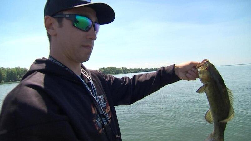 Mikaël Zewski: boxeur et pêcheur de compétition!