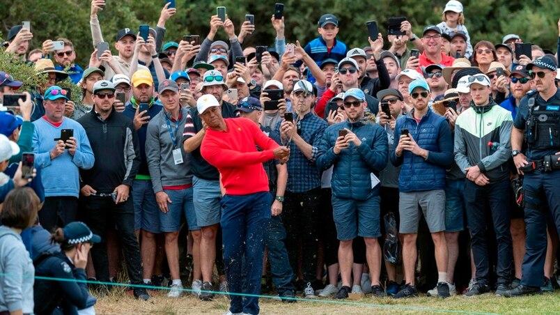 Spectaculaire remontée de Woods et des É.-U. à la Coupe des Présidents