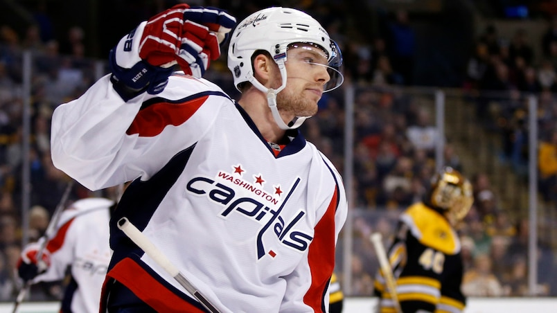 NHL: Washington Capitals at Boston Bruins