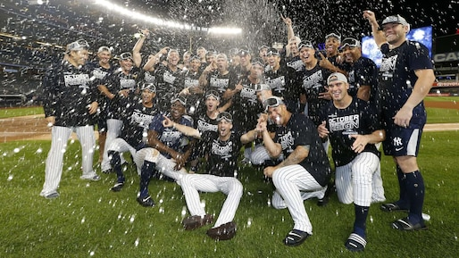 Les Yankees champions de section