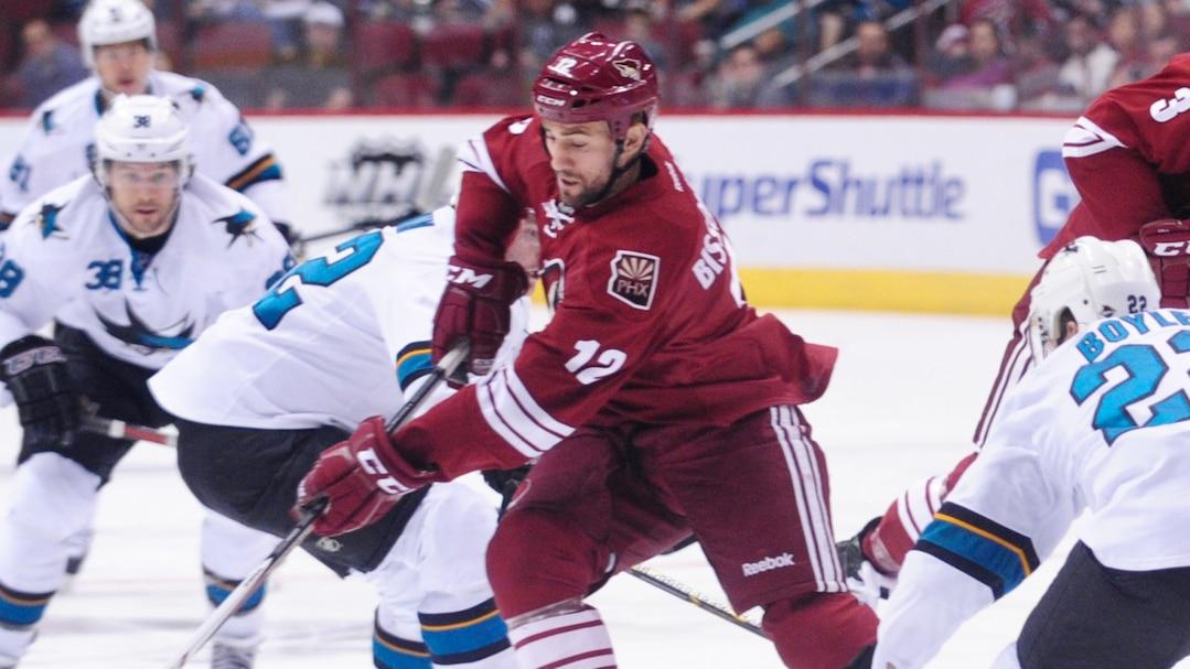 NHL: San Jose Sharks at Phoenix Coyotes