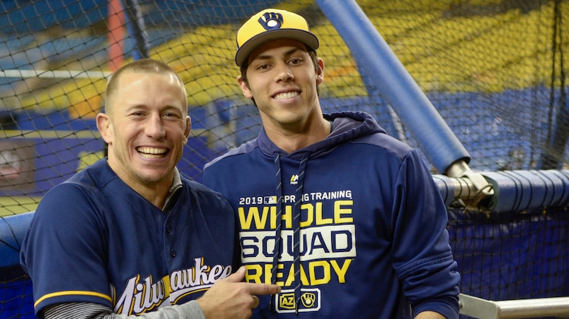 Georges St-Pierre et Christian Yelich
