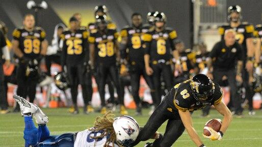 CFL-REGULAR SEASON Montreal Alouettes - vs - Hamilton Tiger-Cats
