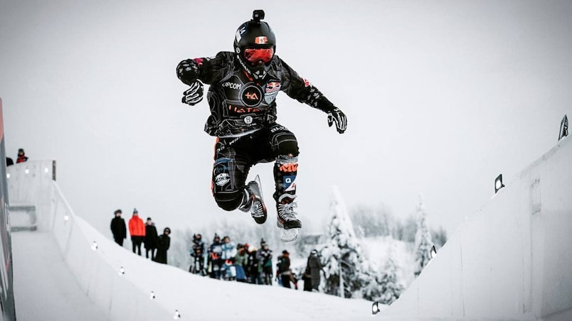 Shayne Renaud, le meilleur patineur extrême québécois