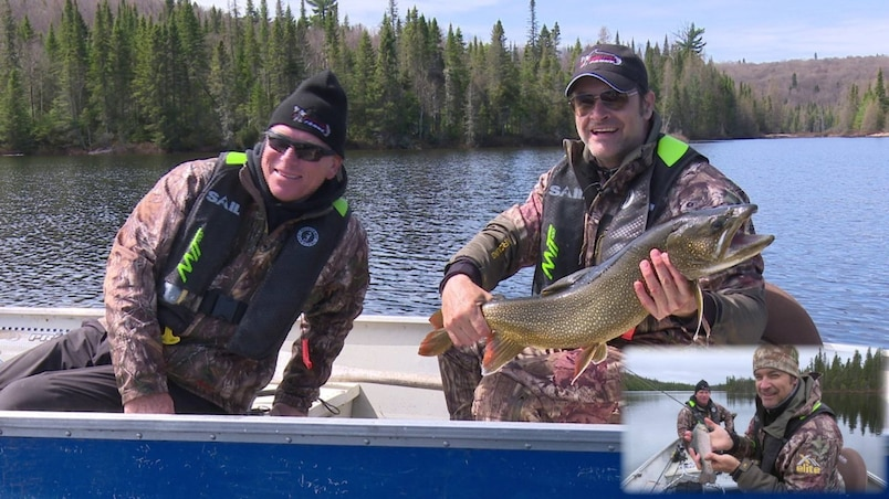 Pêche à la truite : les conditions sont excellentes!