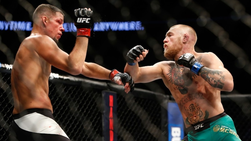 Nate Diaz et Conor McGregor