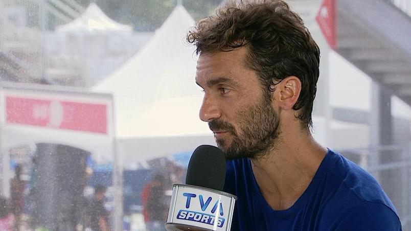 Jean-Christophe Faurel, l'entraîneur d'Adrian Mannarino.