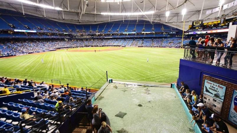 Les Rays veulent rénover le Tropicana Field