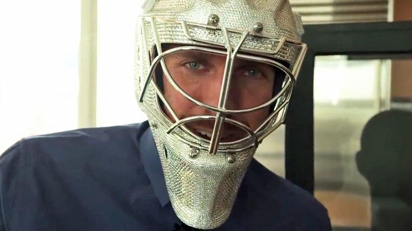 Un masque de cristal pour Lundqvist