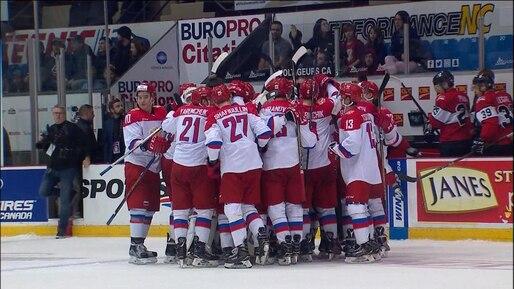 Les Russes remportent la Série Canada-Russie