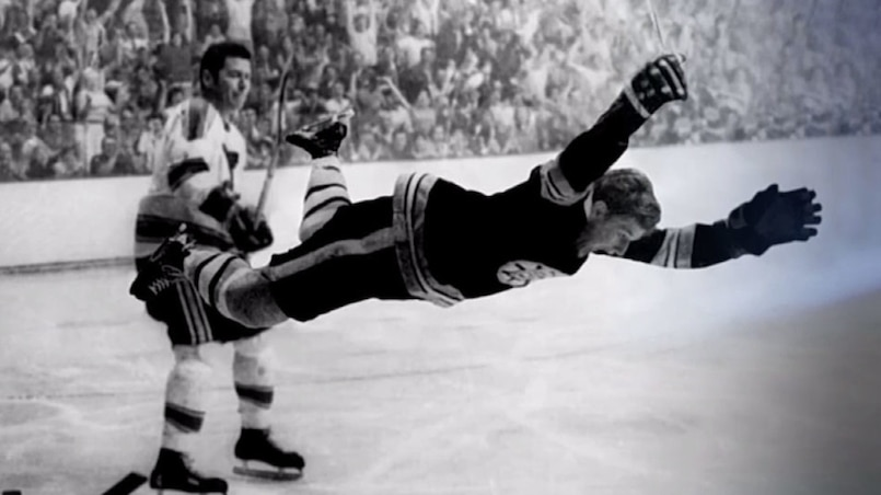 Le but spectaculaire de Bobby Orr