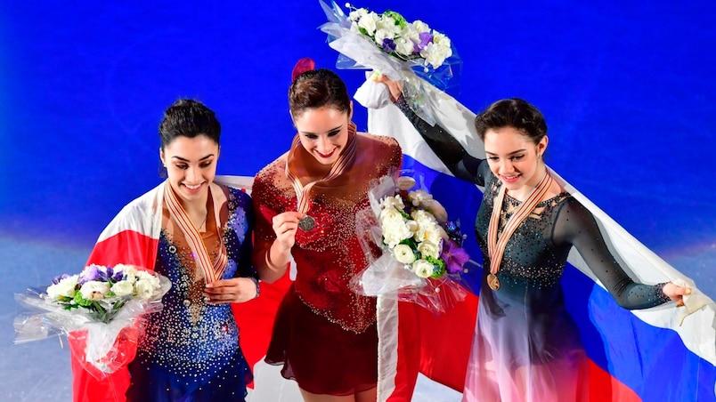 Mondiaux de patinage artistique : un podium historique pour les Canadiennes
