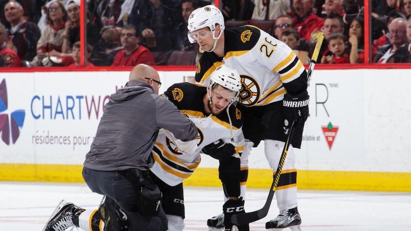 Les blessures continuent de miner les Bruins