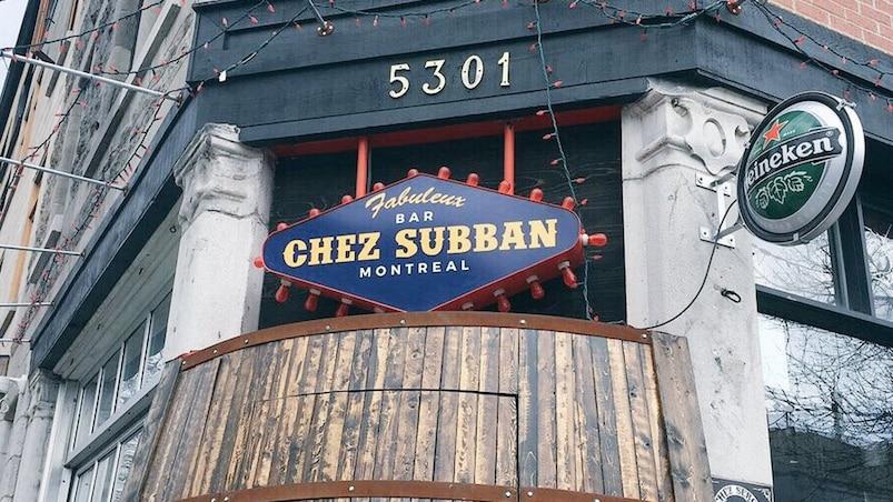 Un bar «Chez Subban» à Montréal