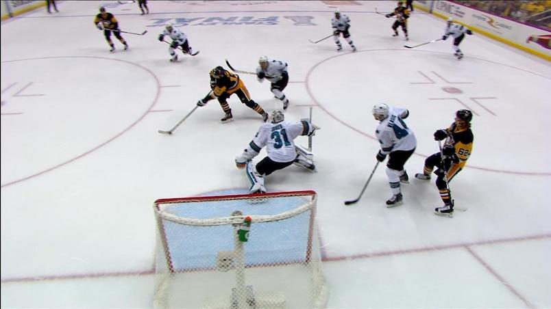L'arrêt de la finale de la Coupe Stanley!