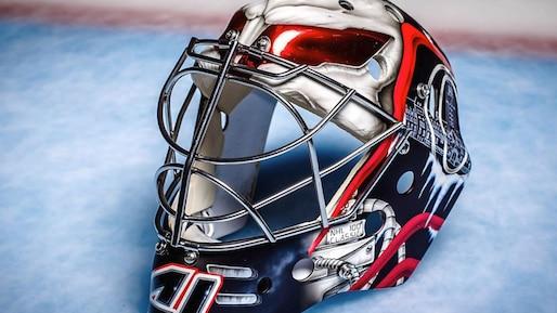 Classique 100 LNH : le nouveau masque de Craig Anderson