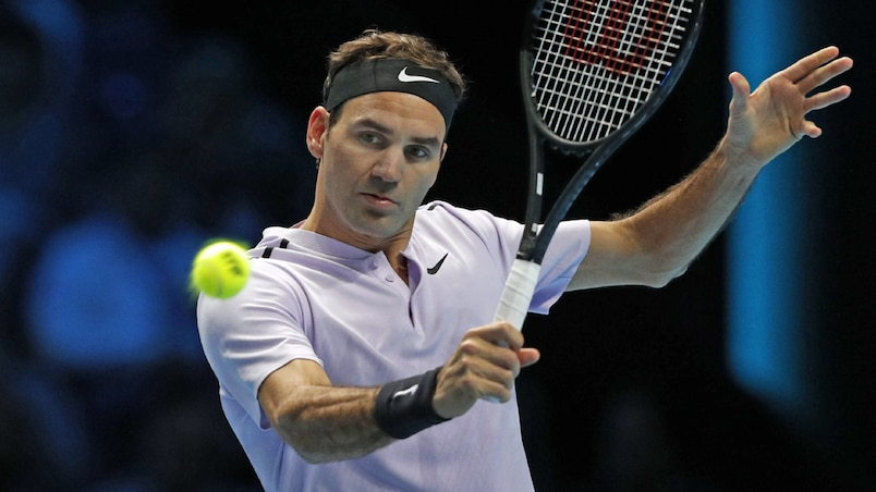 Roger Federer sans forcer contre Jack Sock