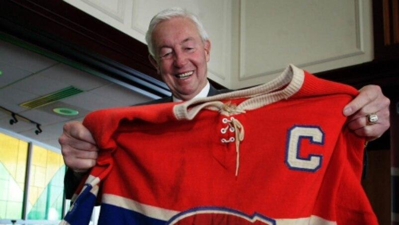 Les Canadiens pleurent Jean Béliveau