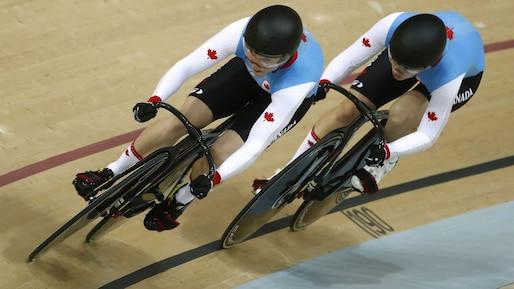 Les Canadiennes éliminées en cyclisme sur piste