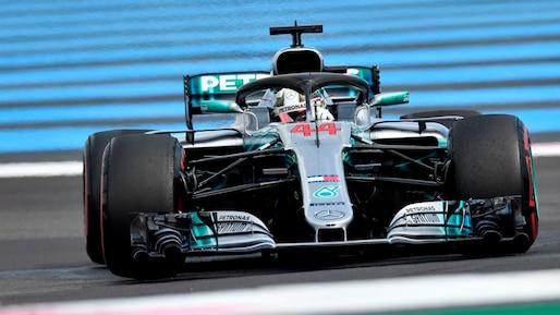 F1: Lewis Hamilton l'emporte, Lance Stroll incapable de finir en France