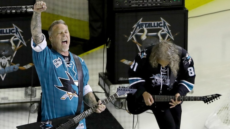 Metallica enflamme le SAP Center