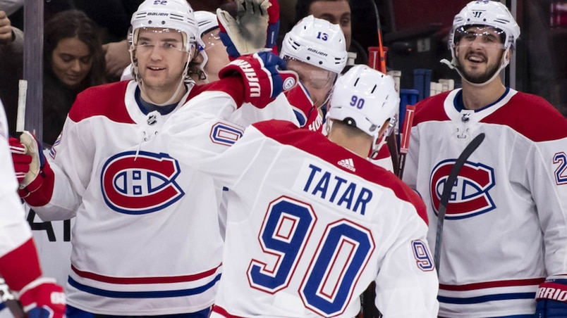 Le CH à égalité avec les Leafs