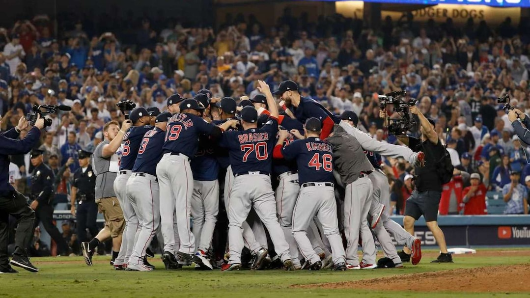 SPO-BBO-BBA-BBN-WORLD-SERIES---BOSTON-RED-SOX-V-LOS-ANGELES-DODG