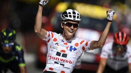 Tour de France: Barguil gagne la 13e étape