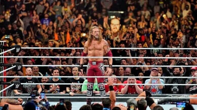 Cette semaine dans la WWE: le retour d'Edge!