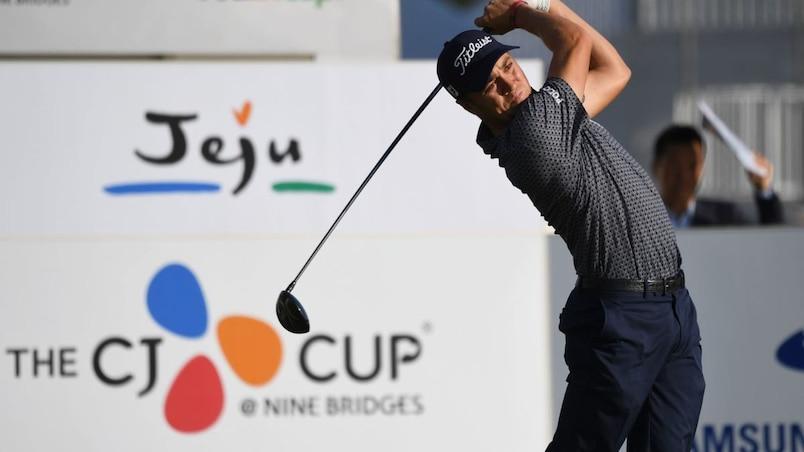PGA: Justin Thomas prend la tête à la Coupe CJ