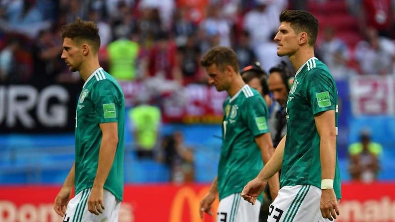 «Désolée» et humiliée, la Mannschaft rentre en Allemagne