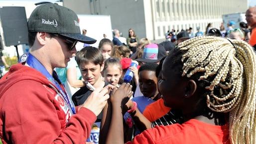 Marathon de la Jeunesse Québecor: un champion parmi les siens