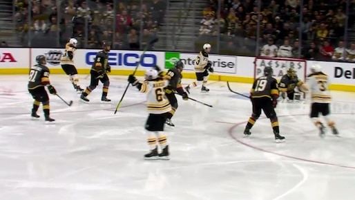 Qui arrêteront les Bruins? Pas les Golden Knights!