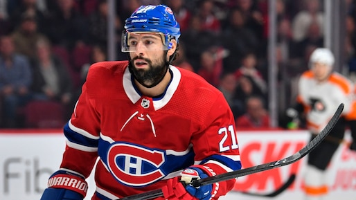 Les Canadiens s'entendent avec Nate Thompson