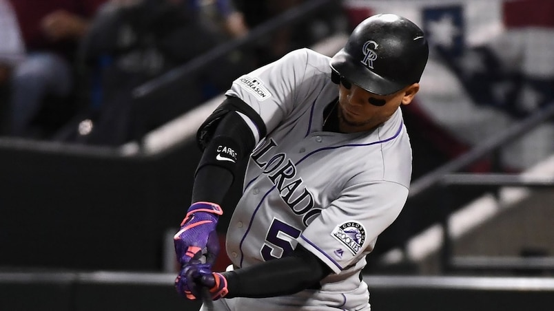 BBN-NATIONAL-LEAGUE-WILD-CARD-GAME---COLORADO-ROCKIES-V-ARIZONA-