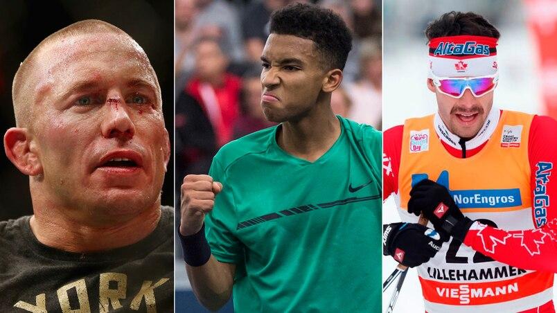 Top 10 des athlètes québécois de l'année 2017