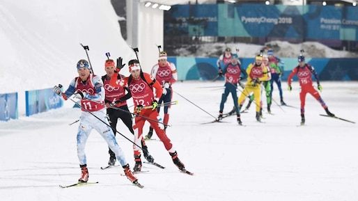 Biathlon - Winter Olympics Day 14
