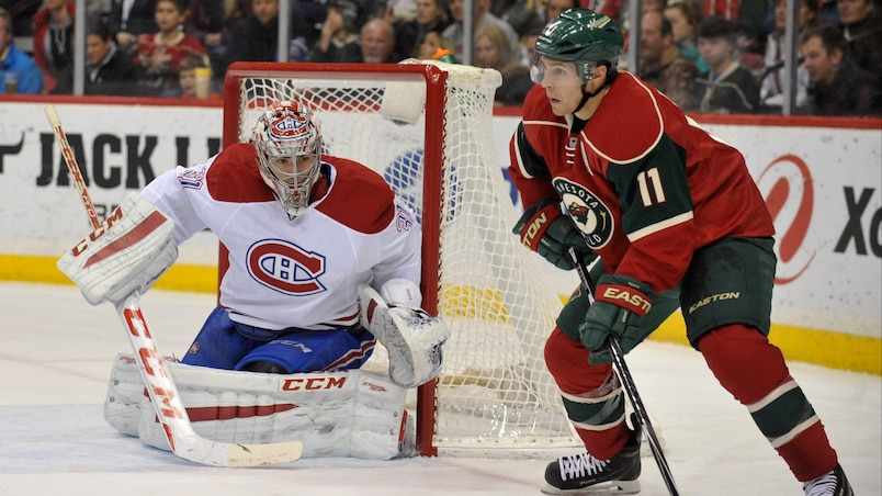 NHL: Montreal Canadiens at Minnesota Wild