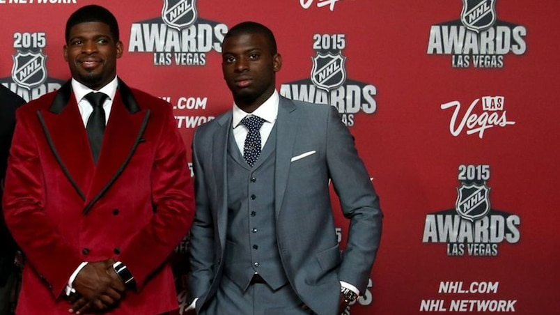 2015 NHL Awards - Red Carpet