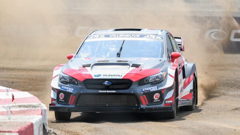 Jacques Villeneuve en Rallycross : réapprendre à la... dure