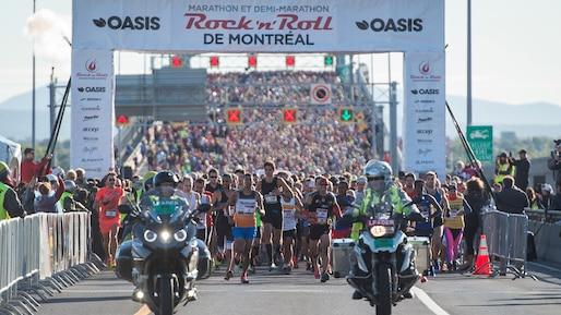 Marathon de Montréal: le 42,2 km annulé