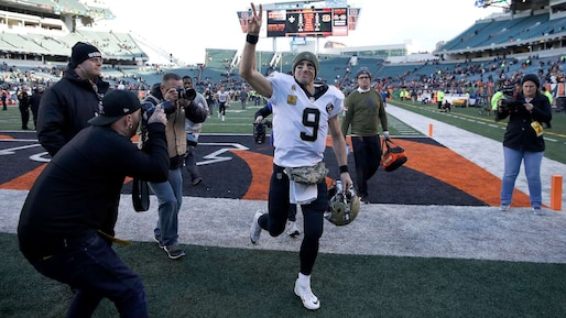 Drew Brees poursuit son ascension