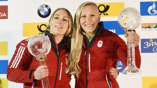 Kaillie Humphries et Melissa Lotholz