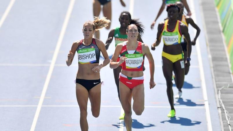 Le meilleur temps pour Melissa Bishop au 800 m