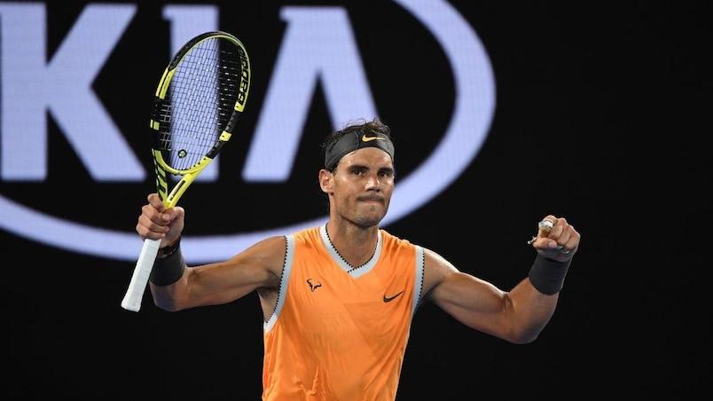 Australie: Rafael Nadal musèle Alex De Minaur