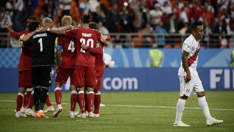 Coupe du monde: le Danemark gâche le retour du Pérou