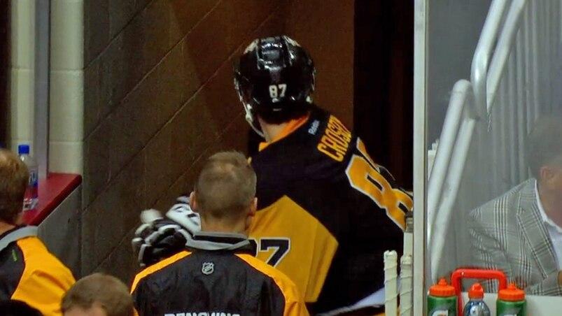 La colère de Crosby