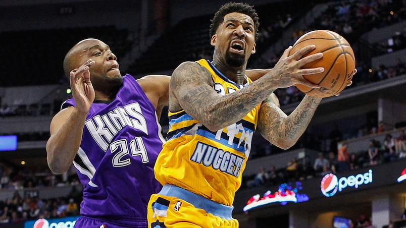 NBA: Sacramento Kings at Denver Nuggets