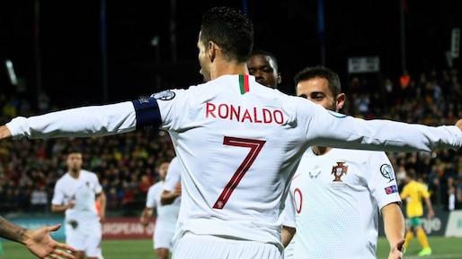 Euro 2020: quadruplé de Cristiano Ronaldo
