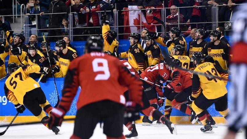Pas de larmes pour les Canadiens en Allemagne